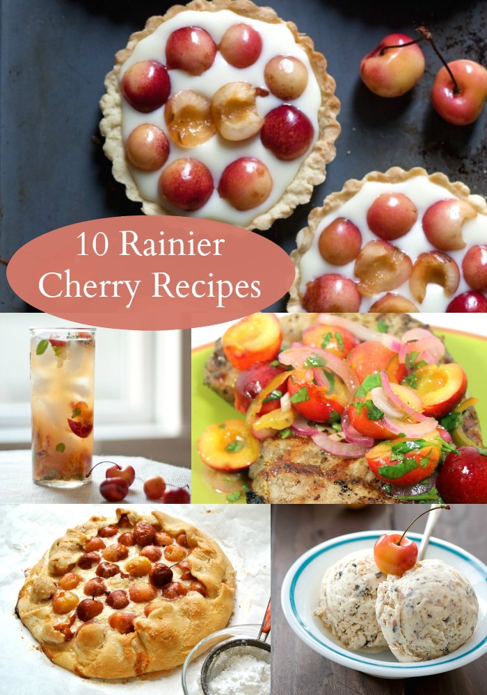 10 rainier cherry recipes